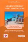 Nomenclátor de Villa 25 de Agosto